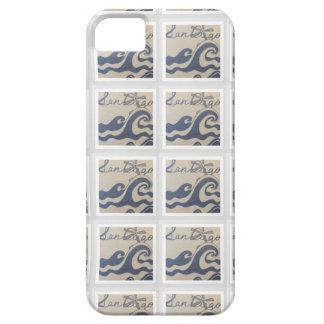 Capa Barely There Para iPhone 5 San Diego, teste padrão do design do amor de CA