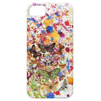 Capa Barely There Para iPhone 5 SE do iPhone da ARTE das borboletas+ 5/5S, mal lá