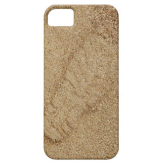 Capa Barely There Para iPhone 5 SE do iPhone do impressão da bota da serragem+caso