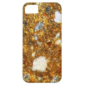 Capa Barely There Para iPhone 5 Seção fina de um tijolo sob o microscópio