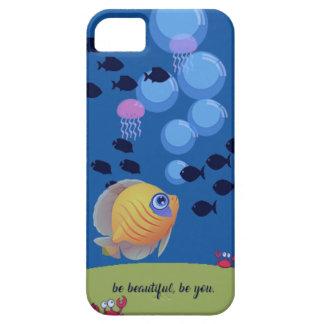 Capa Barely There Para iPhone 5 Seja bonito seja você