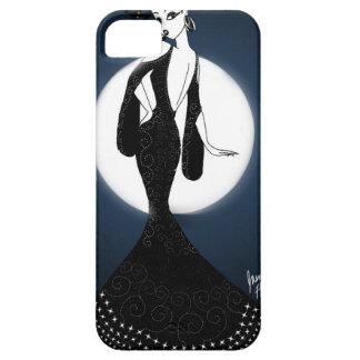 Capa Barely There Para iPhone 5 Senhora lunar