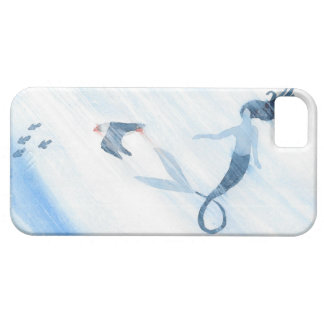 Capa Barely There Para iPhone 5 Sereia e papagaio-do-mar