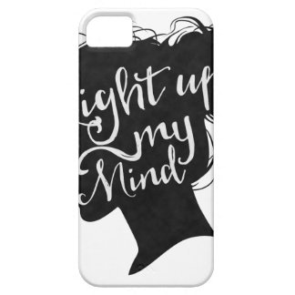 Capa Barely There Para iPhone 5 Silhouette - light up my mind