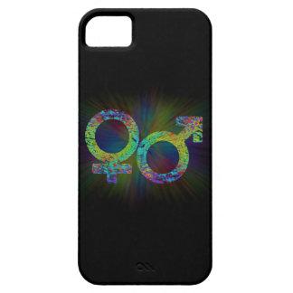 Capa Barely There Para iPhone 5 Símbolos do género