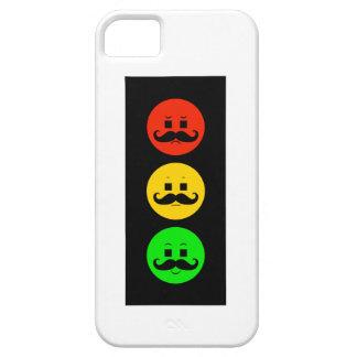 Capa Barely There Para iPhone 5 Sinal de trânsito temperamental com bigodes do
