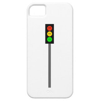 Capa Barely There Para iPhone 5 Sinal de trânsito temperamental em Pólo