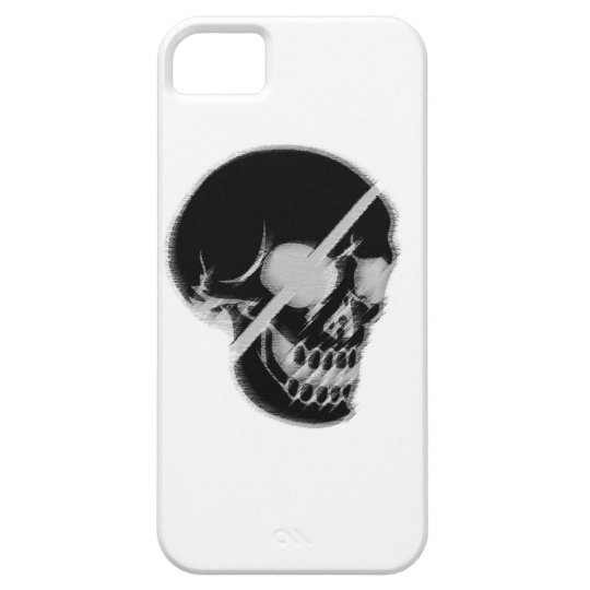 Capa Barely There Para iPhone 5 Skull theme for iphone.