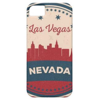 Capa Barely There Para iPhone 5 Skyline retro de Las Vegas