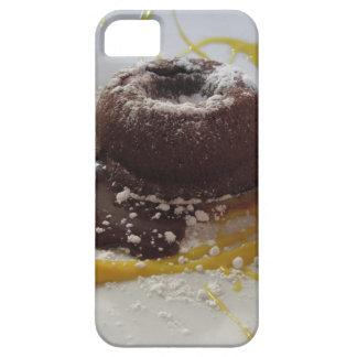 Capa Barely There Para iPhone 5 Sobremesa morna do bolo da lava do fundente do