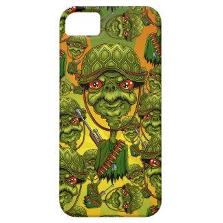 Capa Barely There Para iPhone 5 soldado da tartaruga - caráter engraçado do