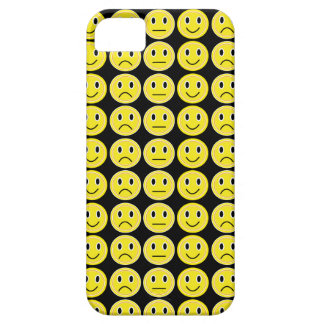 Capa Barely There Para iPhone 5 Sorrisos do amarelo