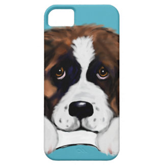 Capa Barely There Para iPhone 5 St Bernard