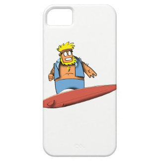 Capa Barely There Para iPhone 5 Surfista feliz
