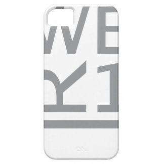 CAPA BARELY THERE PARA iPhone 5 T-SHIRT WER1
