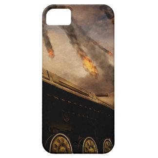 Capa Barely There Para iPhone 5 Tanque militar no campo de batalha