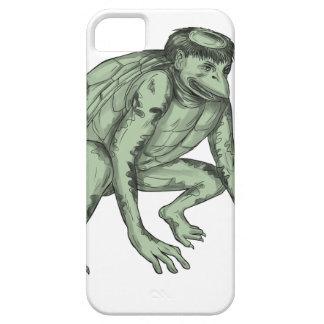 Capa Barely There Para iPhone 5 Tatuagem de agachamento do monstro do Kappa
