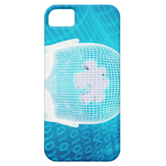 Capa Barely There Para iPhone 5 Tecnologia futurista com a microplaqueta Soluti do