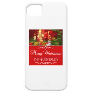 Capa Barely There Para iPhone 5 Tendendo o design do Natal da família de Harry