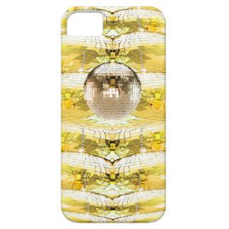Capa Barely There Para iPhone 5 Teste padrão da colmeia da abelha da bola do disco