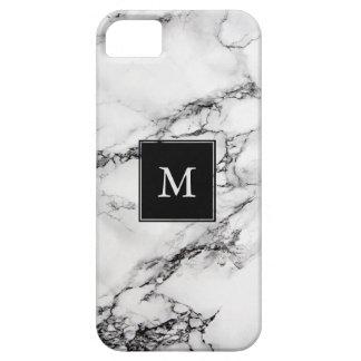 Capa Barely There Para iPhone 5 Teste padrão de pedra de mármore cinzento