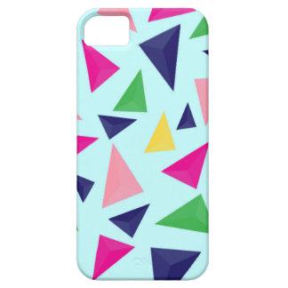 Capa Barely There Para iPhone 5 Teste padrão geométrico colorido II