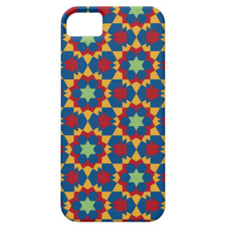 Capa Barely There Para iPhone 5 teste padrão geométrico islâmico