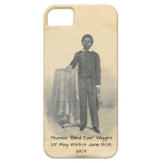"Capa Barely There Para iPhone 5 Thomas ""Tom cego"" Wiggins, 1859"