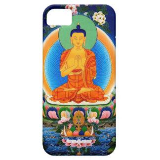 Capa Barely There Para iPhone 5 Tibetano Thangka Prabhutaratna Buddha