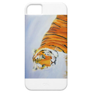 Capa Barely There Para iPhone 5 Tigre grande