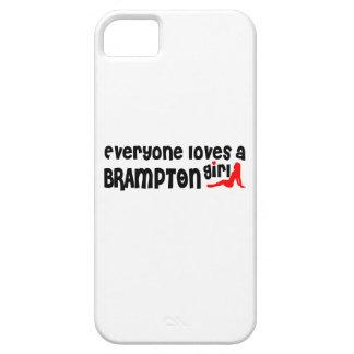Capa Barely There Para iPhone 5 Todos ama uma menina de Brampton