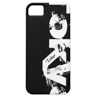 Capa Barely There Para iPhone 5 Tokyo - cobrir preto e branco do estilo urbano