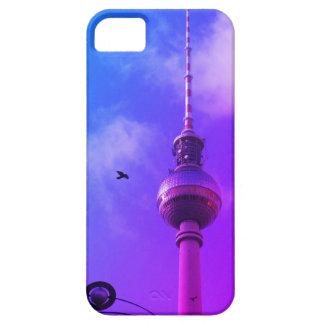Capa Barely There Para iPhone 5 Torre 002.F.02 da tevê de Berlim (Fernsehturm