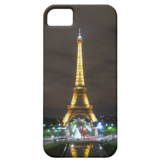 Capa Barely There Para iPhone 5 Torre Eiffel na noite, Paris