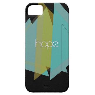 Capa Barely There Para iPhone 5 Triângulos da esperança
