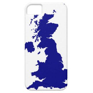 Capa Barely There Para iPhone 5 U.K. e silhueta de Irlanda do Norte