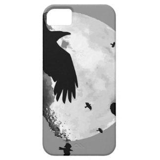 Capa Barely There Para iPhone 5 Um assassinato dos corvos e da lua