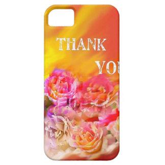 Capa Barely There Para iPhone 5 Um cheio da mão dos obrigados tende para você