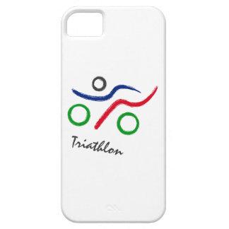 Capa Barely There Para iPhone 5 Um grande presente do Triathlon para sua amigo ou