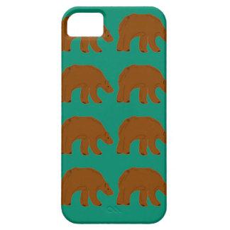 Capa Barely There Para iPhone 5 Ursinhos na edição da hortelã