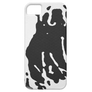 Capa Barely There Para iPhone 5 Urso polar no cinza