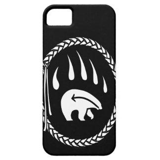 Capa Barely There Para iPhone 5 Urso tribal IPhone 5 casos nativos do urso da arte