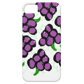 Capa Barely There Para iPhone 5 uvas