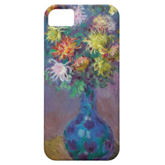 Capa Barely There Para iPhone 5 Vaso dos crisântemos Claude Monet