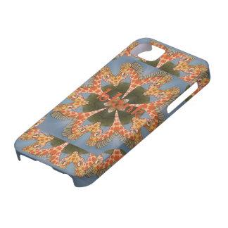 Capa Barely There Para iPhone 5 Vazio colorido africano surpreendente bonito do