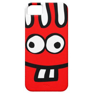 Capa Barely There Para iPhone 5 Vermelho do monstro de Floatie