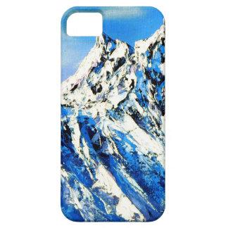 Capa Barely There Para iPhone 5 Vista panorâmica do pico de montanha de Everest