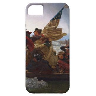 Capa Barely There Para iPhone 5 Washington que cruza arte do Delaware - E.U. do