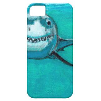 """Capa Barely There Para iPhone 5 """"Wayne"""" o grande tubarão branco"""