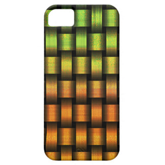 Capa Barely There Para iPhone 5 Weave dourado